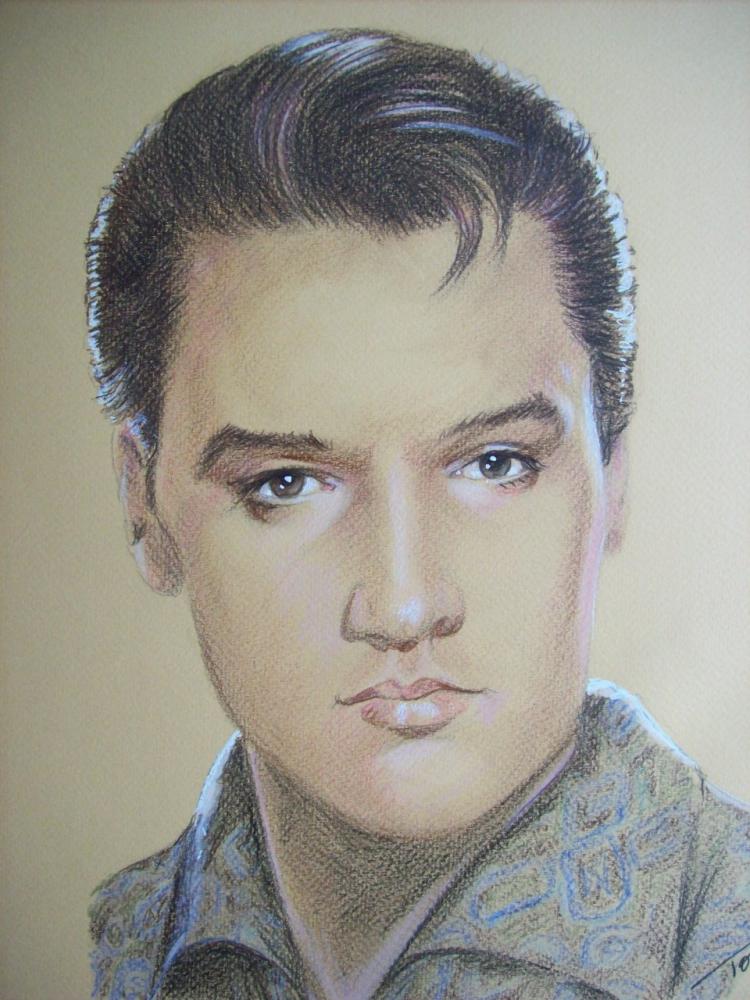 Elvis Presley par Tom-Heyburn